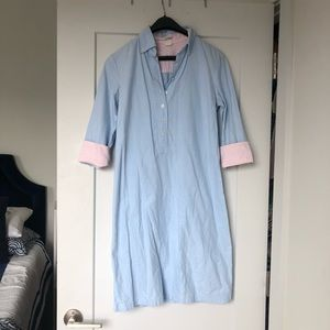 J. Crew Light Blue Shirtdress Size XS
